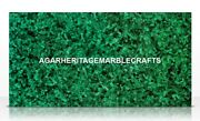 Marble Dining Center Table Top Malachite Inlay Columbus Day Home Decor H2048