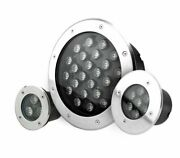 Outdoor Led Light Ip68 Underground Rgb Lamp Stainless Steel Garden Path Stairs