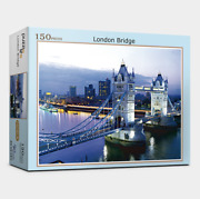 Jigsaw Puzzle 150 Pieces Landscapes Night View Of Tower Bridge At London