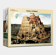 Jigsaw Puzzle 150 Pieces Art Painting The Tower Of Babel Religious Art Painting