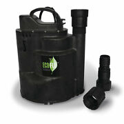 Eco-flo Sup59 1/2 Hp 115v 2520 Gph Automatic Submersible Utility Sump Water Pump