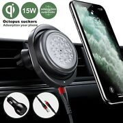Automatic Induction Wireless Car Charger Mount15wqifast Chargingiphone Samsung