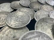 Hsandc Morgan Dollar Roll - 20 Different Years/mints Coins - Fine Or Better