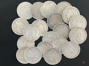 Hsandc Morgan Dollar Roll - 20 Various Years/mints Coins - Fine Or Better