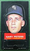 1967 Topps Stand Up Gary Peters 2 Chicago White Sox Stand-up Test Issue Rare