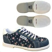 Womens Dexter Liberty Stars And Strikes Denim Bowling Shoes Sizes 5-11