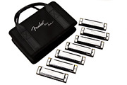 Fender Blues Deluxe Harmonica 7-pack With Case