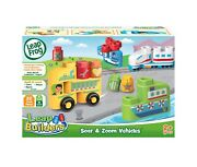 Leap Frog Leap Builders Soar And Zoom Vehicles New Sealed In Box Ages 2+