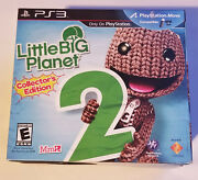 Little Big Planet 2 Ps3 Collector's Edition Sealed New