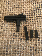 1/6 Scale Handk Mp7 Red Dot Optic Interactive Fore Grip And Collapsible Stock Read