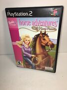 Barbie Horse Adventures Wild Horse Rescue Playstation 2 Ps2 [no Manual]