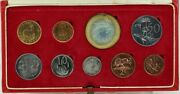 South Africa 1977 Long Proof Coin Set Km Ps99 Fdc