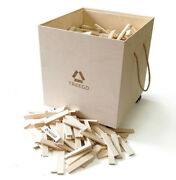 New Treego Wood Construction Set - 1000 Birch Planks Developing Games 3d Puzzles