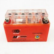 Ytx7a-bs Motorcycle Battery Compatible With Gas Gy6 Scooter Moped 50cc 125cc