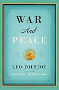 War And Peace Vintage Classics By Tolstoy Count Leo Nikolayevich Book The