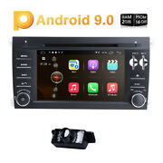 7 Android 10.0 Car Audio For Porsche Cayenne Gps Dps Bluetooth Dvr Tpms Wifi