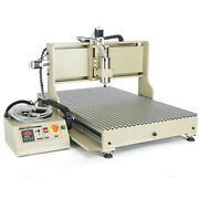 Usb 4 Axis Cnc 6090 Router Engraver 3d Engraving Metal Cutting Machine 1.5/2.2kw