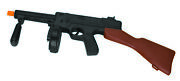 Toy 19.5-inch Tommy Gun Plastic Thompson Machine Gangster Costume Noise Prop