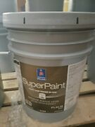 Sherwin Williams Superpaint Paint And Primer In One Gloss Exterior Acrylic 5 Gal