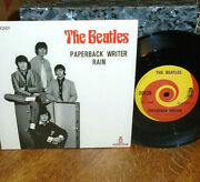 Rare Beatles 2019 Unplayed Mint Paperback Writer 45/heavy-duty Pic Cover