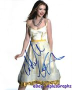 Michelle Trachtenberg.. Charming Young Actress - Signed