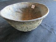 Oriental Bronze Bowl Chinese Or Japanese Unknown Asian Bowl West-04845