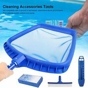 Swimming Pool Cleaning Kit Accessories With Net Brush Thermometer And Test Box