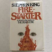 1980 Stephen King Book Fire Starter 1st Edition By Viking See Notes