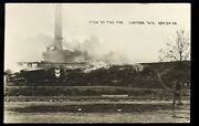 Hartford Wi Wisconsin C1909 Rp Fire Aftermath - Hartford Plow Factory