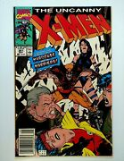 Uncanny X-men 261 Hardcase And The Harriers Newsstand Edition 1990 Marvel Comics