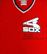 Ted Lyons Authentic Autographed White Sox Jersey Best Wishes Psa/dna Coa V11811