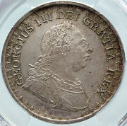 1811 Great Britain Uk George Iii Silver 3 Shillings Bank Token Coin Pcgs I85723