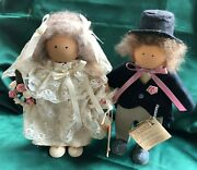 Ladie And Friends - Lizzie High Dolls - The Wedding Couple