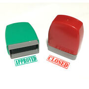 Self Inking Word Stamp Personalised Office Accounting Paid Completed Copy Denied