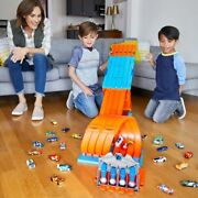 Hot Wheels Track Builder System Race Crate Set Toy Gift Speed Stunts 2.4m Fun 5+