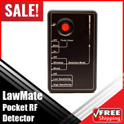 Lawmate Pocket Multi-functional Rf Detector Test Device Rd-30 Surveillance Sweep