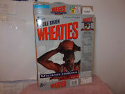 Vintage New Wheaties Michael Jordan Chicago Bulls Cereal Box..1992