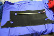 Mg Mgb Battery Cover Carpet Assembly With Roll Bar Cut Outs