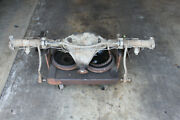 Mg Mgb 77-80 Original Rear Axle Assembly With Rear Sway Bar Assembly