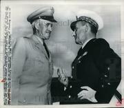 1950 Press Photo Gen Charles Francois Lecheres Chief Of Staff Of French Air