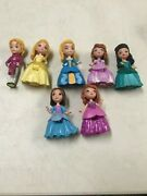 Disney Sofia The First Talking Castle Dollhouse Replacement Dolls 7 Doll Set