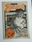 Peter Laird Signed Scat Comic Before Tmnt Rare Htf