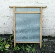 Old Washboard Country Vintage Primitive Tool Laundry Room Decor Hand Wash Board