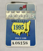 Lot 8 1990's Masters Golf Tournament Augusta National Golf Club Series Badges