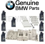 For Bmw E60 E61 7l 0w-30 Engine Oil And Motor Pan And Bolt Set And Torx Screw Kit Oes