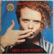 Simply Redmen And Womenvintage Album Lp 33.vynil.10 Unforgettable Songs