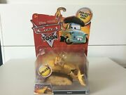 Disney Cars Toon Chuy Deluxe The Bulldozer From El Materdor Red Hot Paint Job