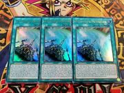 3 X Outrigger Extension Mp20-en217 1st Edition New Ultra Rare Yu-gi-oh
