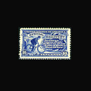 Usa Special Delivery Stamp- Mint Ogandnh Xf Se6a Post Office Fresh Gem...