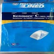 9x Dvc Vacuum Cleaner Bags 50558 5055 50557 For Sears Kenmore Type C Q Canister